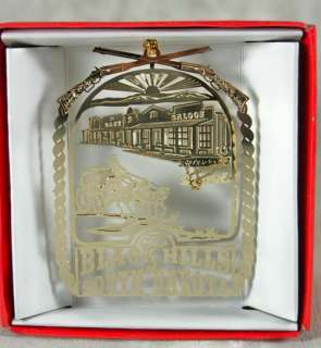 Black Hills of South Dakota Christmas Ornament Souvenir Stagecoach Old