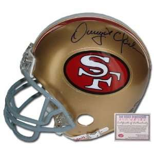 Dwight Clark San Francisco 49ers NFL Hand Signed Mini Replica Football