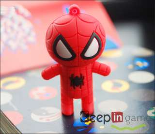 New 8GB Fashion Cartoon Spider Man Shape USB 2.0 Flash Memory Disk