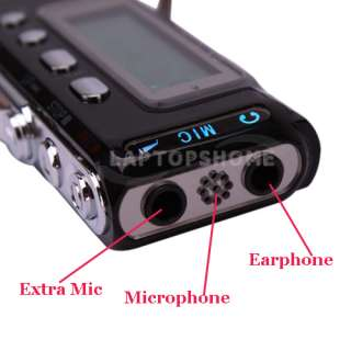 New PRO 8GB USB Digital SPY Audio Voice Recorder Dictaphone  player