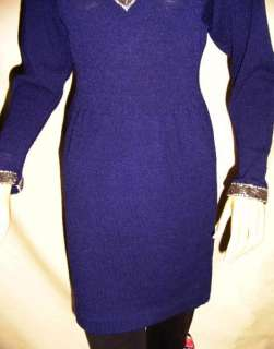 Ladies Sexy Clingy Vintage Sweater Dress Vintage Perfection to todays