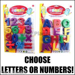 FRIDGE MAGNETS CHILDRENS LEARNING KIDS MAGNETIC LETTERS OR NUMBERS