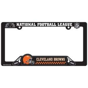 Cleveland Browns License Plate Frame