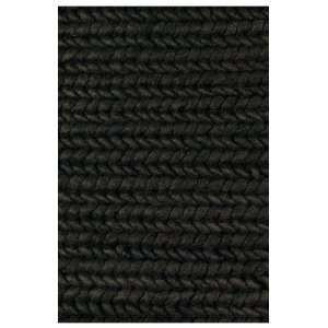Ligne 154001 6 7 x 9 10 black Area Rug