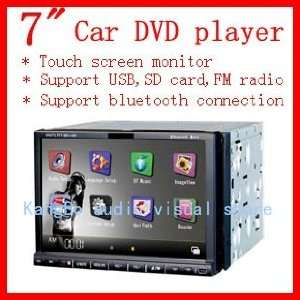 inch HD digital LCD touch screen car DVD player, DVD / TV / FM player