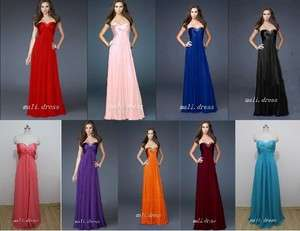 Formal Party Gown Evening Dresses Stock Size 6 8 10 12 14 16 18