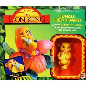 The Lion King Jungle Friend Babies Sleeping Simba Toys & Games