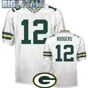 Big & Tall Gear   NFL Authentic Jerseys Green Bay Packers #12 Aaron