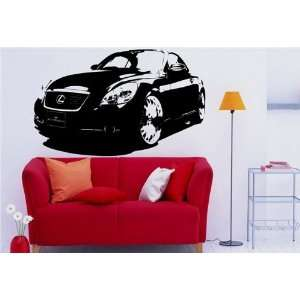 MURAL Vinyl Decal Sticker Car LEXUS SC 430 S. 1263