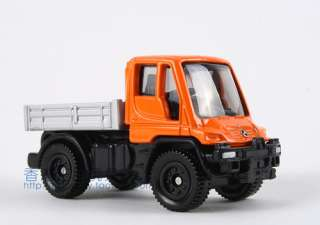 NEW TOMICA #22 6 DIECAST MERCEDES BENZ UNIMOG U400 (orange) 395652