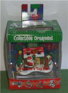 Fisher Price Little People SANTAS WORKSHOP Collectible Ornament