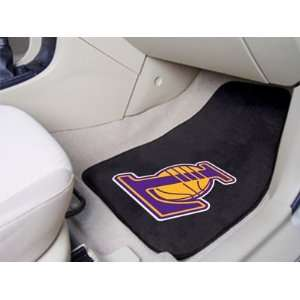 Los Angeles Lakers Printed Carpet Car Mat 2 Piece Set [Misc.]