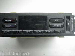 93 94 Lincoln Town Car A/C Heater Climate Control EATC
