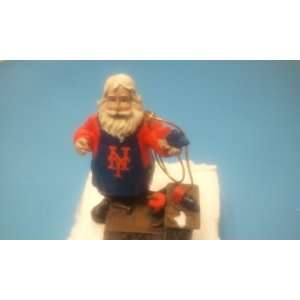 York Mets Workshop Santa Christmas Tree Ornament Limited Edition 2008