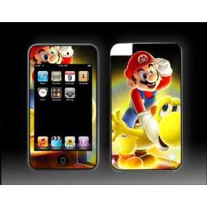 iPod Touch 3G Super Mario Bros #2 Galaxy Brothers Vinyl Skin kit fits