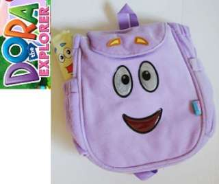 NWT Dora The Explorer Mr. Face Plush Backpack (Purple)