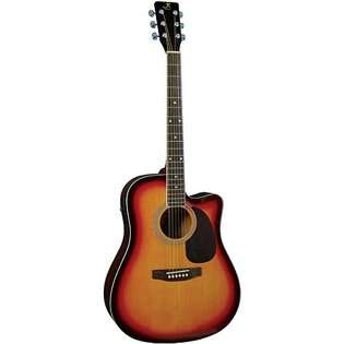 Left Handed, Dreadnought Acoustic Guitar  Kona Guitars Toys & Games