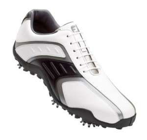 FOOTJOY SUPERLITES GOLF SHOES CLOSEOUT MENS WHITE/BLACK 58125 NEW