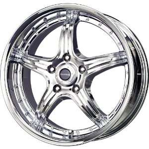 Liquid Metal Wingman Chrome Wheel (15x7/4x100mm