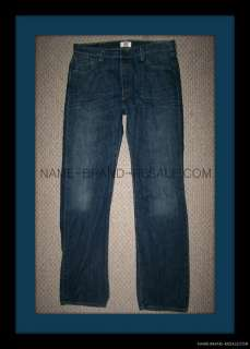 501 THE ORIGINAL STRAIGHT LEG BUTTON FLY JEANS MENS 36x36