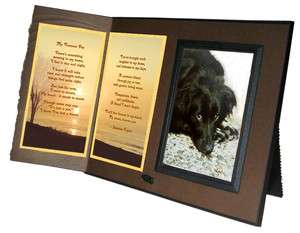 My Forever Pet Poem Frame Pet Loss Sympathy Gift Rich Brown with
