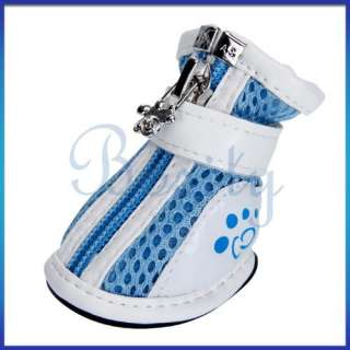 Pet Dog Puppy Shoes Boots Bootie Sport Sneakers PU/Mesh/Canvas All