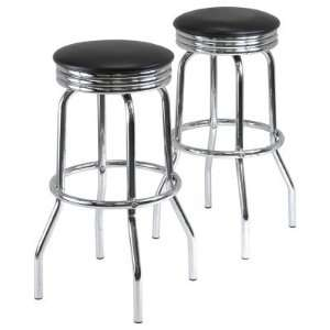 Winsome Wood Winsome Summit Swivel Bar Stool   Set of 2