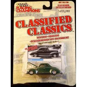 Racing Champions Classified Classics   40 Ford Coupe