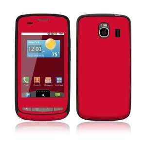 LG Vortex Skin Decal Sticker   Simply Red