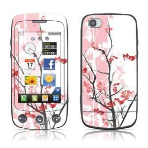 Pink Tranquility Design Protective Skin Decal Sticker for LG Cookie