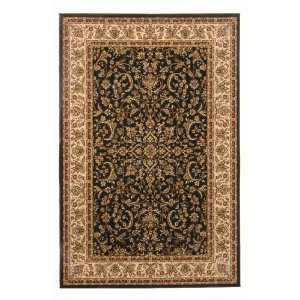 Radici Noble Series II 1318 910 x 1210 Black Area Rug