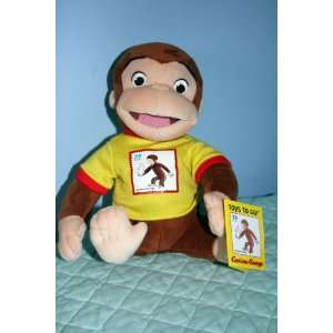 Curious George United States Postal Service 39 Cent Stuffed Character