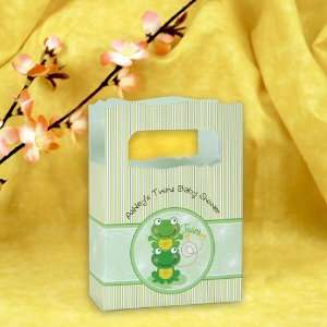 Froggy Frogs   Mini Personalized Baby Shower Favor Boxes Toys & Games