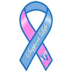 Support Life Awareness Mini Ribbon Magnet