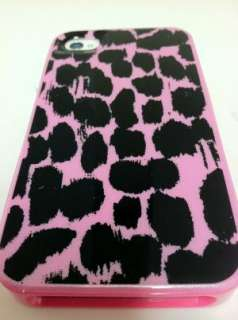 Pink Leopard Fashion Designer Case Cover Skin Back for iPhone 4 4S USA