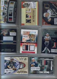 NFL Football Game Used Jersey Auto Patch BGS RC 1/1 Lot