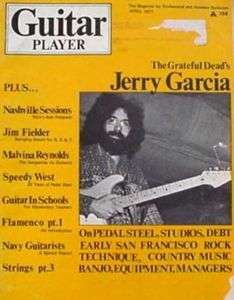 Guitar Player Magazine April 1971 Jerry Garcia *RARE*