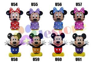 2GB 8GB 16GB Mickey Minnie mouse USB 2.0 Flash Memory Stick Pen Drive
