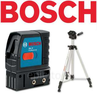 BOSCH GLL2 Self Leveling Cross Line Laser Level Kit NEW