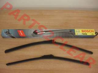 RENAULT TWINGO BOSCH AEROTWIN FLAT WIPER BLADES A296S
