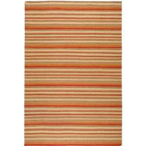 Frontier Collection Contemporary Hand Woven Wool Rug 5.00