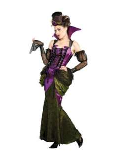 Victorian Vampiress  Cheap Gothic/Vampire Halloween Costume for Women