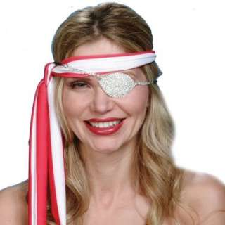 Halloween Costumes Rhinestone Deluxe Eye Patch