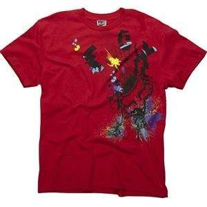 Fox Racing Sillyfuse T Shirt   Large/Red Automotive