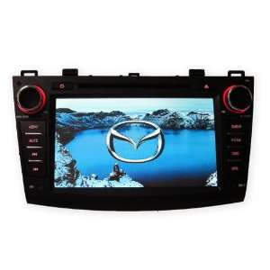 Mazda 3 2010+ In Dash Double Din 7 Touch Screen GPS DVD
