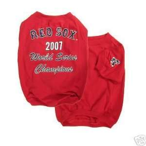 MLB Boston Red Sox 2007 World Series Champ Dog Tee LRG