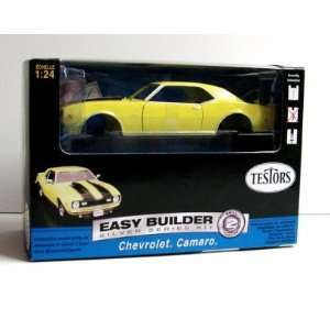 TESTORS   1/24 1968 Chevy Camaro Z28 (Yellow) (Metal Kit