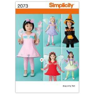 Simplicity Sewing Pattern 2073 Toddlers Costumes, A (1/2