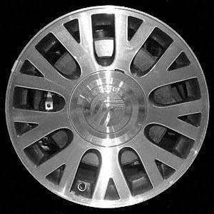 03 04 FORD CROWN VICTORIA ALLOY WHEEL (PASSENGER SIDE)  (DRIVER RIM