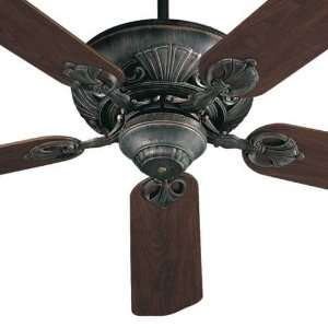 78525 93 Chateaux 5 Blades Indoor Ceiling Fan in Charcoal 78525 93